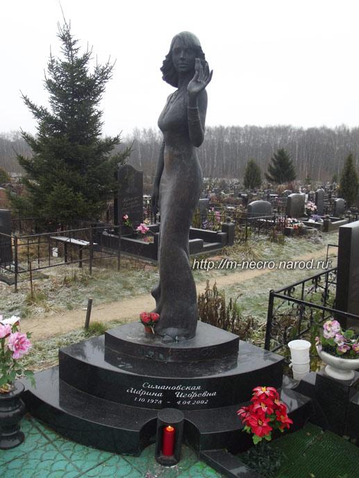 Могила Марины Симановской