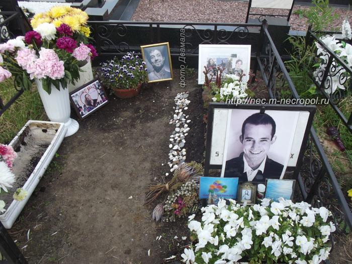 могила даниила певцова фото